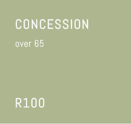 Concession over 65 Join the Friends of Iziko south African National Gallery