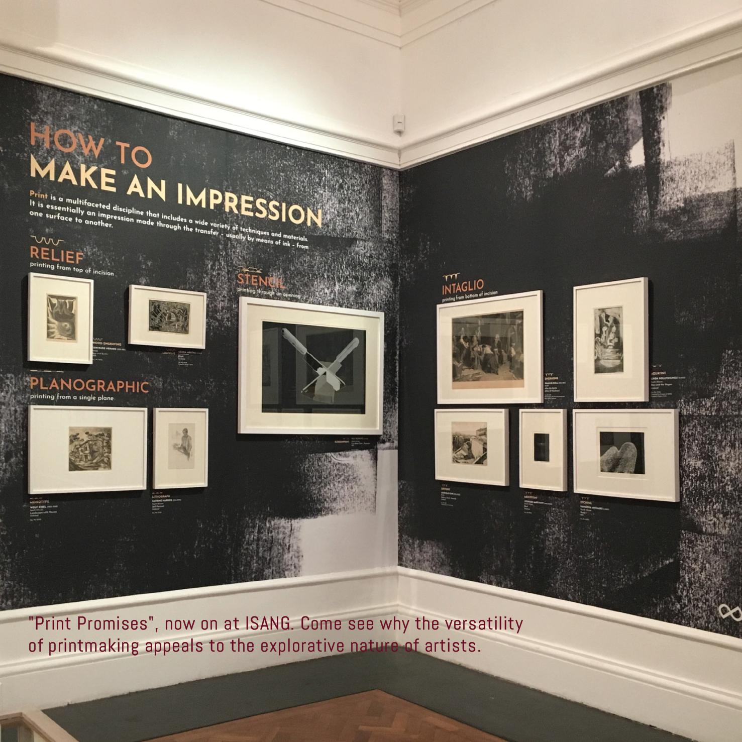 Print Promises Exhibition