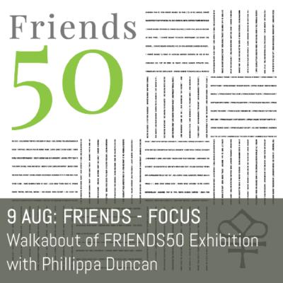 FRIENDS50 logo