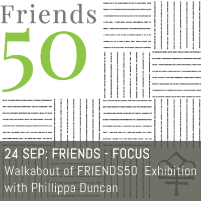 24 Sep Walkabout with Phillippa Duncan